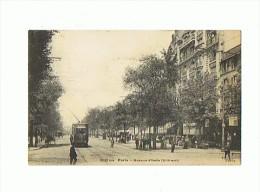 CPA 75 PARIS 13 Eme Avenue D'Italie        Tram - Arrondissement: 13
