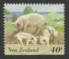 New Zealand, 40 C. 1995, Sc # 1291, Mi # 1463, Used. - Nuova Zelanda