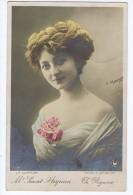 Saint Aignan ,Artiste 1900 , Théâtre Réjane , La Coiffure Modèle Jourliac , Photo Manuel - Théâtre