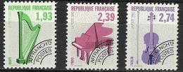"""Préo YT 210 à 212 """" Instruments De Musique """" 1990 Neuf **"""