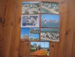 Lot De 7 Cartes De  La Grande Motte   ( Hérault )       Scannées Recto/ Verso - Postcards