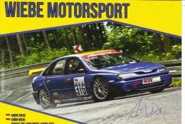 Wiebe Motorsport -  Renault Williams Laguna BTCC  -  André Wiebe  -  Carte Promo - Rallyes