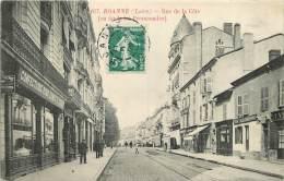 42 - ROANNE -  RUE  DE LA COTE - AU FOND LES PROMENADES - Roanne