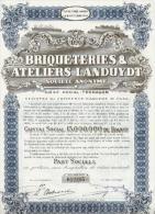 Briqueteries & Ateliers Landuyth - Terhagen - Actions & Titres