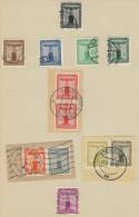 Deutsches Reich Dienst Michel No. 144 - 154 gestempelt used