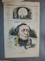 La LUNE, juillet 1867, TB gravure Ernest PICARD, par And GILL, TB �tat ; ref 255