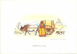 MONGOLIE   / CARTE  GRAND  FORMAT  /  LOT 1157 - Mongolie