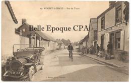 28 - NOGENT-le-PHAYE - Rue Du Tronc / Épicerie LESIEUR-FLEURY +++++ L. Aubert, Phot., Chartres, #14 ++++ 1916 - Francia