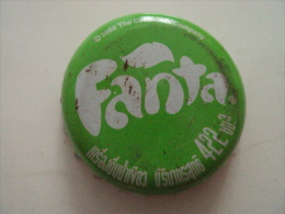 Cambodia Coca Cola Fanta Used Bottle Crown Cap / Kronkorken / Chapa / Tappi - Caps