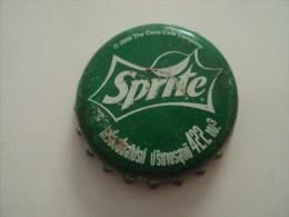 Cambodia Coca Cola Sprite Used Bottle Crown Cap / Kronkorken / Chapa / Tappi - Caps