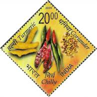 Odd Shape, Diamond Shape, Spices, Chilli, Coreander, Turmeric, India - Alimentation