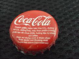 Vietnam Viet Nam Coca Cola Used Bottle Crown Cap  In 2009 / Kronkorken / Chapa / Tappi - Casquettes