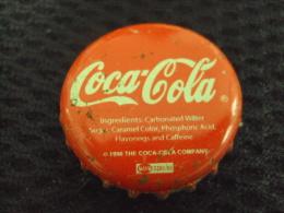 Vietnam Viet Nam Coca Cola Used Bottle Crown Cap 1996 / Kronkorken / Chapa / Tappi - Casquettes