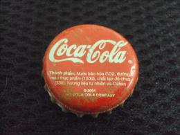 Vietnam Viet Nam Coca Cola Used Bottle Crown Cap 2004 / Kronkorken / Chapa / Tappi - Caps