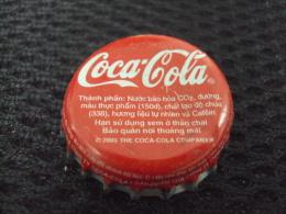 Vietnam Viet Nam Coca Cola Used Bottle Crown Cap 2005 / Kronkorken / Chapa / Tappi - Casquettes