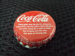 Vietnam Viet Nam Coca Cola Used Bottle Crown Cap 2013 / Kronkorken / Chapa / Tappi - Casquettes
