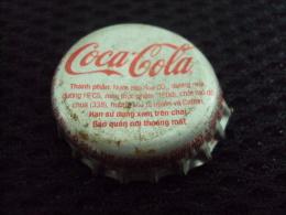 Vietnam Viet Nam Coca Cola Used Bottle Crown Cap In 2014 / Kronkorken / Chapa / Tappi - Caps