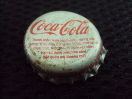 Vietnam Viet Nam Coca Cola Used Bottle Crown Cap In 2014 / Kronkorken / Chapa / Tappi - Casquettes