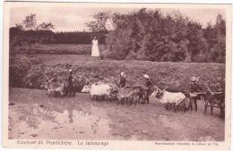 Environs De PONDICHERY - Le Labourage -ed. A Latour - Teams