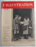 WW II:L�ILLUSTRATION: EXODE..AVIATION..INVASION BELGIQUE..ARTILLERIE LOURDE..Etc....