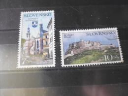TIMBRE De SLOVAQUIE   YVERT N°194.195 - Slowakische Republik