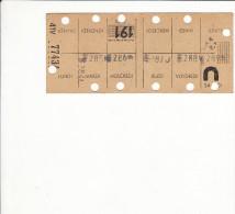 Carte hebdomadaire / Paris / 1941 / Station d�mission 191