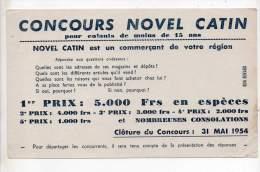 Buvard - Concours Novel Catin - C