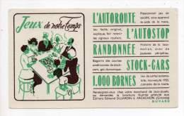 Buvard - Jeux De Notre Temps - Löschblätter, Heftumschläge