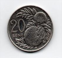 SAMOA   20  SENE   2006