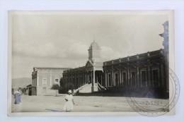 Old Real Photo Postcard Bolivia - Oruro - Hospital - Unposted - Bolivia