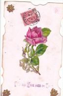24287 Pres Yeux Pres Coeur , Decoupis Rose - Sans Editeur