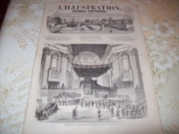 L'ILLUSTRATION 21 JUIN 1862 : ANDORRE - FRIBOURG - PRINCE DE GALLES - ROUEN - BORDEAUX