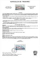 KERGELEN DE TREMAREC - 1994 DOCUMENT TERRES AUSTRALES ET ANTARCTIQUES - Navi Polari E Rompighiaccio
