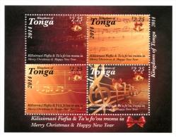 ton141101 Tonga 2014 Christmas s/s