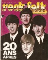 ROCK  &  FOLK   -   N°  192  -   Janvier 1983  -  Spécial BEATLES  20 Ans Après. - Music