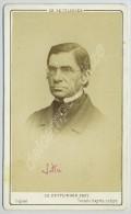 CDV 1867 Ch. Reutlinger. Le Lexicographe, Philosophe Et Homme Politique Emile Littré. - Photos