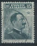Italia 1906 Usato - 15c I Tipo Normale Centratura VEDI SCAN - 1900-44 Vittorio Emanuele III