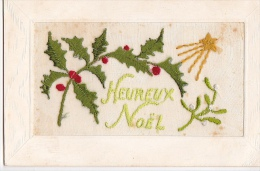 24302 Cpa Brodée Heureux Noel-  Houx Guy Etoile- Ed SEL