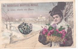 24304 MARVILLE MOUTIER BRULE - Je Vous Envoie Des Fleurs _CA& ? Paris