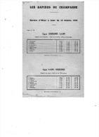 LES RAPIDES DE CHAMPAGNE   1934 - Transports