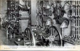 50 CHERBOURG ++ L'Arsenal - Salle D'Armes (fond Sud) - Canon Krupp Pris à L'expédition De Chine En 1884 ++ - Cherbourg