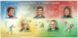 2013 - Russia - Giochi Olimpici Invernali - Leggende Dello Sport, - Inverno 2014: Sotchi