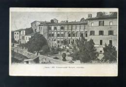 T2019 CARTOLINA SIENA  RR.  CONSERVATORI RIUNITI  GIARDINO