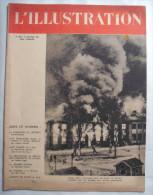 WW II:L�ILLUSTRATION.1940: PRISONNIERS de GUERRE-CROIX ROUGE..PARIS..UKRAINE.FIN LANDE..ARMEE de L'AIR..Etc...
