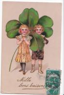 24319 Enfant Trefle Bebe -mille Baisers -doré - PBF 11362