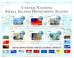 sam1407s1 Samoa 2014 Pacific SIDS Letter Rate Sea Life s/s Fish Turtle
