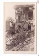 50 AVRANCHES  Destruction Carte Photo - Avranches