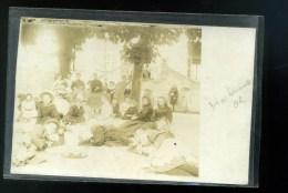 Photographie  Foto - Carte Photo  Prise à HARTENNES Aisne 02 Groupe De Villageois - Lieux