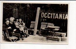 Carte photo ou photographie - Portrait de famille (Occitania Toulouse ? ) / Photographe sans