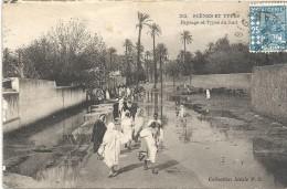 CARTE De 1928 Envoyé De ORAN - ALGERIE - Paysage Et Types Du Sud - ENCH11 - - Oran